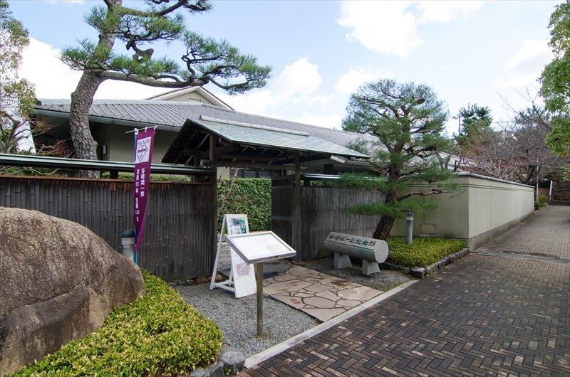 谷崎潤一郎に関する展示を見学できる「芦屋市谷崎潤一郎記念館」