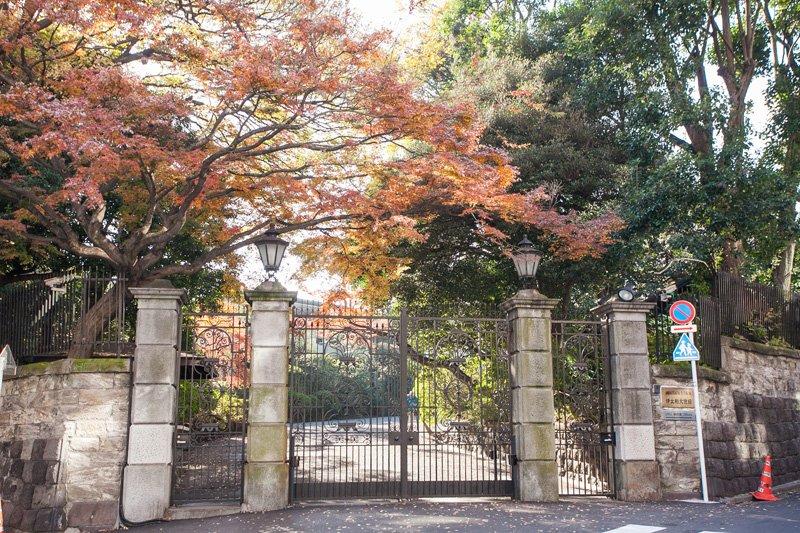 松平隠岐守中屋敷跡地にある「イタリア大使館」