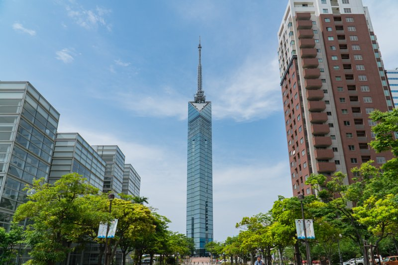 福岡市内を一望できる「福岡タワー」