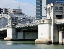 「勝鬨橋」に由来する街、勝どきエリア
