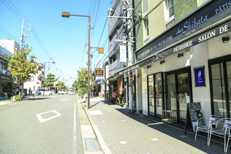 覚王山商店街
