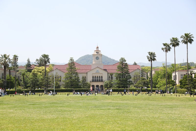 長い歴史を誇る建物が残る「関西学院大学 西宮上ヶ原キャンパス」