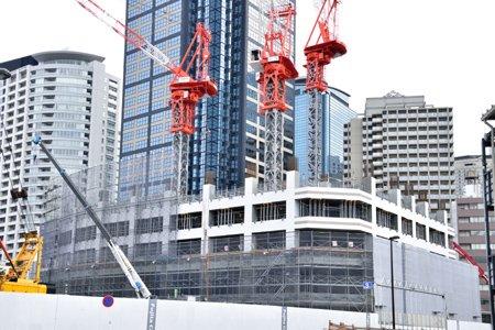 ザ・パークハウス西新宿タワー60建設工事