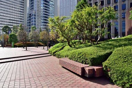 新宿センタービル公開空地